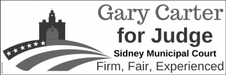 Gary Carter for Judge - Firm - Fair - Experienced