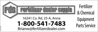 Fertilizer & Chemical Equipment Parts Service
