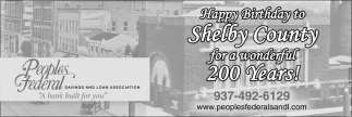 Happy Birthday to Shelby County