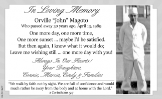 Orville John Magoto
