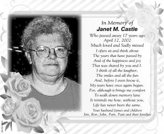 Janet M. Castle