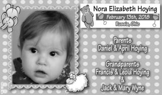 Nora Elizabeth Hoying