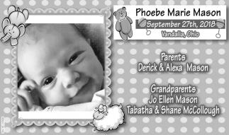 Phoebe Marie Mason