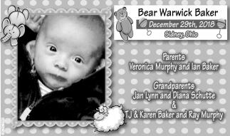Bear Warwick Baker