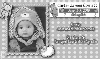 Carter James Cornett