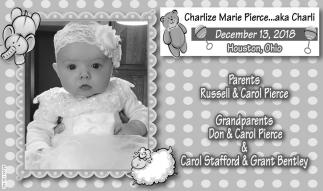 Charlize Marie Pierce... aka Charli