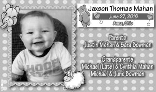 Jaxson Thomas Mahan