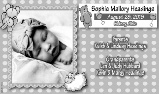 Sophia Mallory Headings