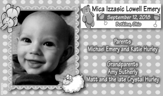 Mica Izzasic Lowell Emery