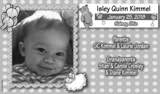 Isley Quinn Kimmel