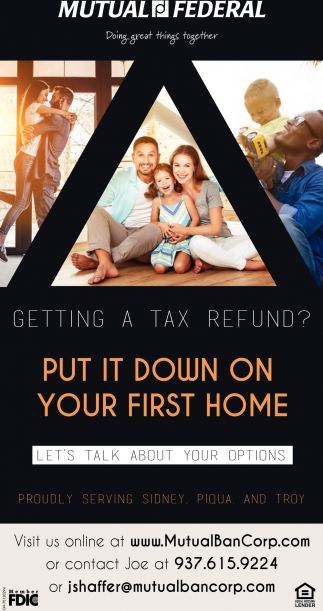 Getting a tax refund? Put it down on your first home