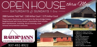 Open House thru May