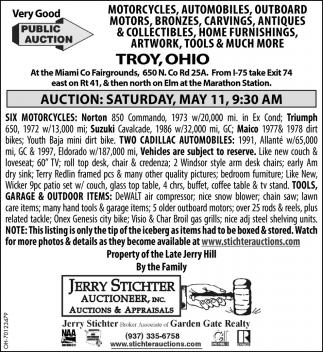 Very Good Public Auction