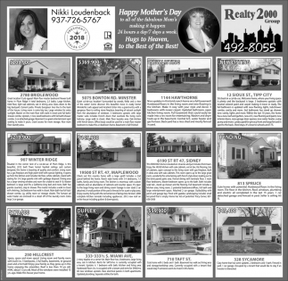 Happy Mother's Day, Realty 2000 Group: Nikki Loudenback