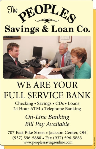 We are your full service bank