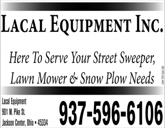 Here to Serve Your Street Sweeper, Lawn Mower & Snow Ploe Needs