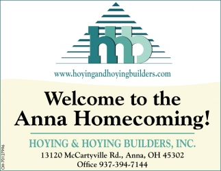 Welcome to the Anna Homecoming!