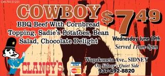 Cowboy $7.49