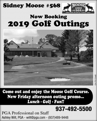 Now Booking 2019 Golf Outings