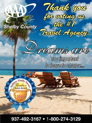 Thank you for voting us the #1 Travel Agency