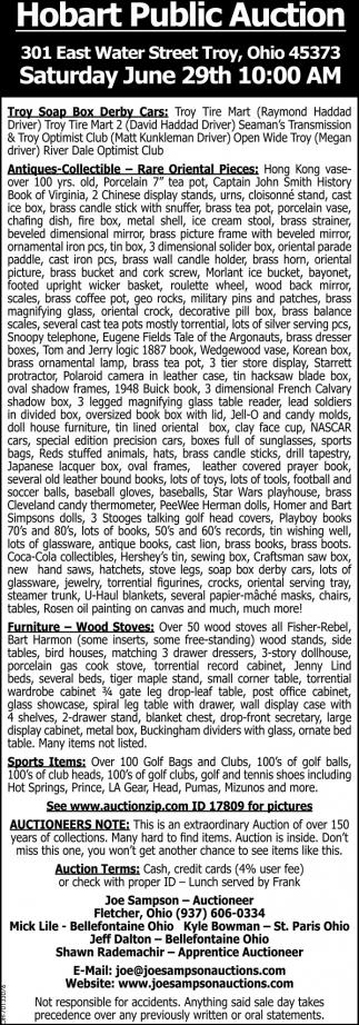 Hobart Public Auction