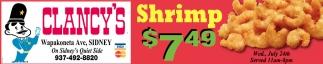 Shrimp $7.49