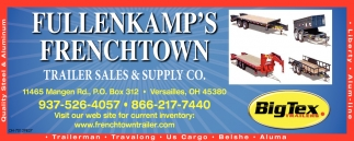 Provider of horse, livestock, open utility, enclosed cargo, heavy duty, equipment, and hydraulic dump trailers