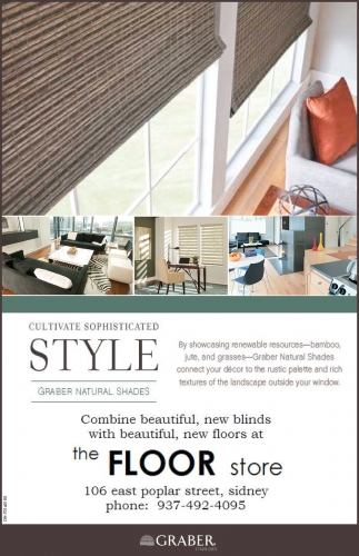 Combine beautiful, new blinds with beautiful, new floors