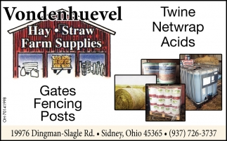 Twine Netwrap Acids - Gates Fencing Post