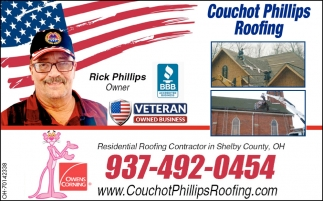Residential Roofing Contractor in Shelby County