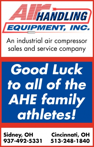 GoodLuck to all of the AHE family athletes