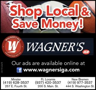 Shop Local & Save Money