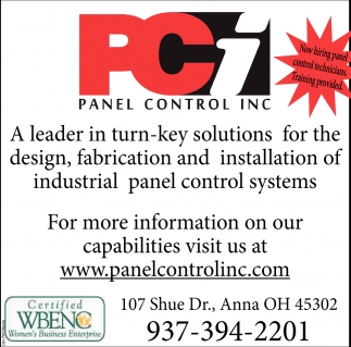 Industrial Panel Control Systems