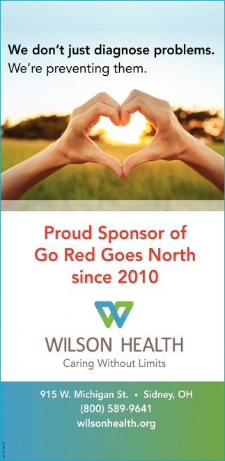 Proud Sponsor of Go Red Goes north since 2010