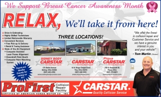 We Support Breast Cancer Awareness month