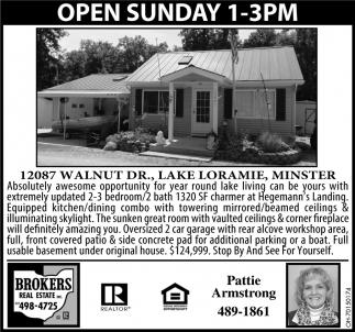 Open House - 12087 Walnut Dr., Lake Loramie