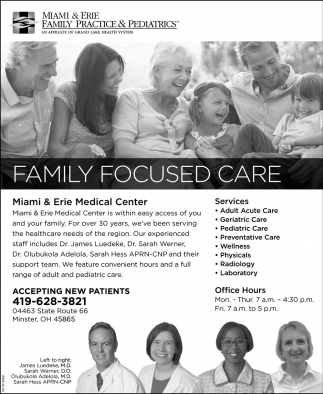 Family Focused Care