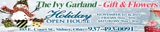 Holiday Open House - November 1st & 2nd