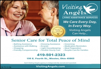 Senior Care for Total Peace of Mind