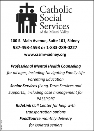 Professional Mental Health Counseling ~Senior Services