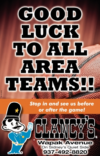 Good Luck To All Area Teams!
