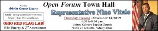 Open Forum Town Hall - Representative Nino Vitale