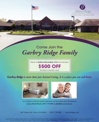 Come Join The Garbry Ridge Family