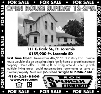 Open House - 111 E. Park St., Ft. Loramie