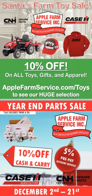Santa's Farm Toy Sale!