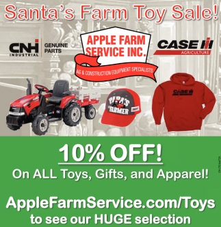 Santa's Farm Toy Sale!