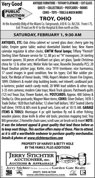 Public Auction - February 1