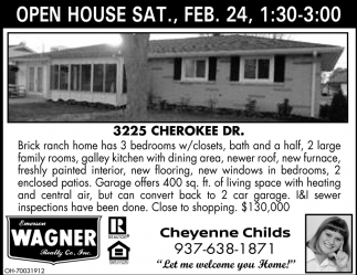 3225 Cherokee Dr.