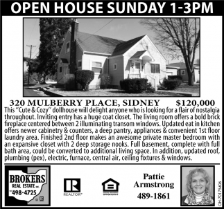 Open House - 320 Mulberry Place, Sidney