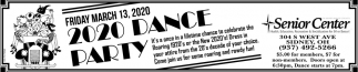 2020 Dance Party - March 13
